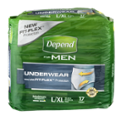 Depend Underwear For Men Maximum Large/XL 17CT PKG