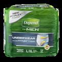 Depend Underwear For Men Maximum Large/XL 17CT PKG
