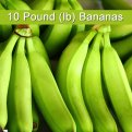 Bananas Green Turning 10 LBS