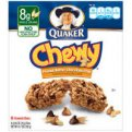Quaker Chewy Granola Bars Peanut Butter Chocolate Chips 8CT PKG