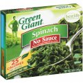 Green Giant Spinach No Sauce 9oz Box