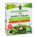 Green Giant Creamed Spinach 10oz Box
