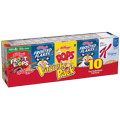 Kellogg's Cereal Variety Pak 10CT 9.63oz PKG