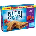 Kellogg's Nutri-Grain Cereal Bars Mixed Berry 8CT 10.4oz Box