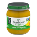 Beech-Nut Stage 2 Corn & Sweet Potatoes 4oz Jar