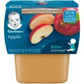 Gerber 2nd Fruits Apples All Natural 4oz 2PK