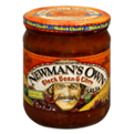 Newman's Own All-Natural Salsa Black Bean & Corn 16oz Jar