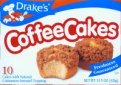 Drake's Coffee Cake Cinnamon Crumb Topping 10CT 12.22oz Box