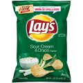 Lay's Potato Chips Sour Cream & Onion 9.5oz Bag