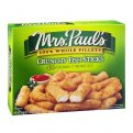 Mrs. Paul's Fish Sticks Crunchy 44CT 24.6oz. Box