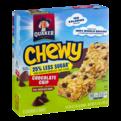 Quaker Chewy Granola Bar 25% Less Sugar Chocolate Chip 8CT PKG
