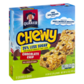 Quaker Chewy Granola Bar 25% Less Sugar Chocolate Chip 8CT PKG