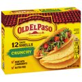 Old El Paso Taco Shells Crunchy 12CT 4.6oz Box