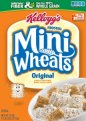 Kellogg's Frosted Mini Wheats Cereal 24oz Box