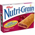 Kellogg's Nutri-Grain Cereal Bars Cherry 8CT 10.4oz Box