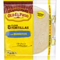 Old El Paso Flour Tortillas Burrito Size 8CT 11oz PKG