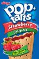 Kellogg's Pop-Tarts Unfrosted Strawberry 12CT 22oz Box