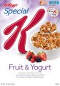 Kellogg's Special K Fruit & Yogurt Cereal 12.5oz Box