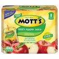 Mott's 100% Apple Juice 8CT of 6.75oz Pouches