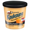 Kaukauna Spreadable Extra Sharp Cheddar Cheese 12.6oz Tub