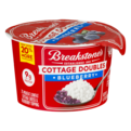 Breakstone's Cottage Cheese Doubles Blueberry 100 Calories 3.9oz