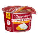 Breakstone's Cottage Cheese Doubles Peach 100 Calories 3.9oz