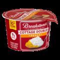 Breakstone's Cottage Cheese Doubles Peach 100 Calories 3.9oz