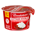 Breakstone's Cottage Cheese Doubles Strawberry 100 Calories 3.9oz