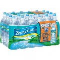 Zephyrhills Spring Water 24 Pack of 23.7oz Sports Bottles