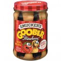 Smucker's Goober Peanut Butter and Strawberry Jelly 18oz Jar