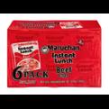 Maruchan Instant Lunch 6 Pack Beef Flavor Ramen Noodles 13.5oz PKG