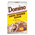 Domino Pure Cane Dark Brown Sugar 1LB Box