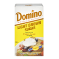 Domino Pure Cane Light Brown Sugar 1LB Box