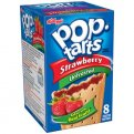 Kellogg's Pop-Tarts Unfrosted Strawberry 8CT 14.7oz Box