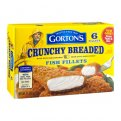 Gorton's Fish Fillets Breaded Crunchy 6CT 11.4oz Box
