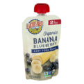 Earth's Best Organic Baby Food Puree Banana Blueberry 4oz Pouch