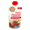 Earth's Best Organic Banana Raspberry Brown Rice Fruit & Grain Puree 4.2oz Pouch