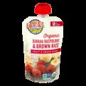 Earth's Best Organic Banana Raspberry Brown Rice Fruit & Grain Puree 4.2oz Pouch