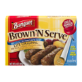 Banquet Brown N Serve Lite Original Sausage Microwave Links 10CT 6.4oz PKG