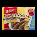 Banquet Brown N Serve Lite Original Sausage Microwave Links 10CT 6.4oz PKG