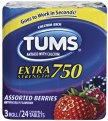 Tums Regular Strength Assorted Fruit  3 Roll Pack