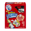 Dannon Danimals Squeezables Lowfat Yogurt Pouches Strawberry Milkshake 4Pouches 16oz PKG