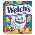 Welch's Fruit Snacks Mixed Fruit 80CT .9oz Pouches