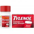 Tylenol Extra Strength Pain Reliever Caplets 24CT Box