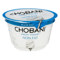 Chobani Non-Fat Greek Yogurt Plain 5.3oz Cup