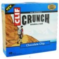 Clif Crunch Granola Bar Chocolate Chip 10 Bar Box