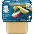 Gerber 2nd Fruits Bananas with Apples & Pears All Natural - 4oz 2PK
