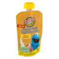Earth's Best Organic Fruit Yogurt Smoothie Peach Banana 4.2oz Pouch
