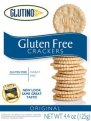 Glutino Gluten Free Crackers Original 4.4oz Box