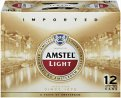 Amstel Light Beer 12CT 12oz Cans *ID Required*